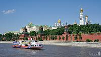 Cruising on the Moscow River