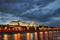 Kremlin Reflections at Spring Twilight