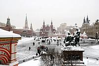 Red Square After Snowfall