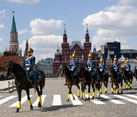 Cavalry on the Way Back to Kremlin