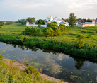 Suzdal Landscapes - Kamenka River and Intercession Convent