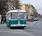 Vintage Trolleybuses Parade 2014 Started