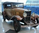 Chevrolet AC Open Tourer (1929) – Front Angle View