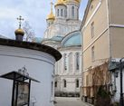On the Grounds of Sretensky Monastery - View from the Entrance