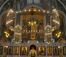 Marble Iconostasis and Khoros Chandelier of Resurrection Church