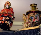 Colorful Russian Samovars