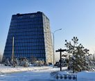 Skolkovo Business Center Matrex (Matryoshka) – Winter Scenery