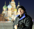 With Beloved Camera at Red Square