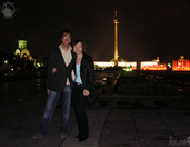 In Park Pobedy at Night