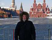 Cold weather in Moscow
