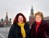 At Empty Red Square in Moscow