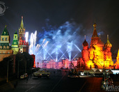 "1st International Festival of Light ""Circle of Light"" in Moscow"