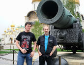At the Famous Tsar Cannon